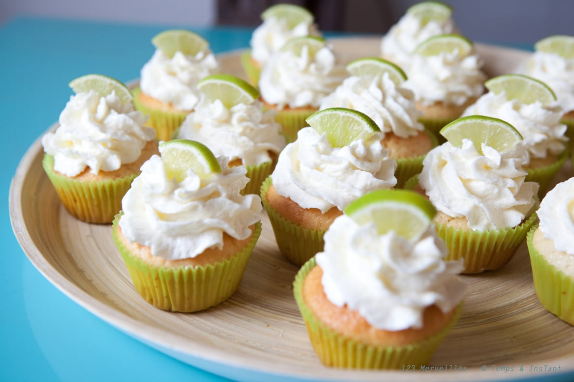 cupcake coco citron vert recette de cupcake. Black Bedroom Furniture Sets. Home Design Ideas