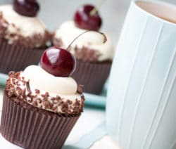 cupcake foret noire
